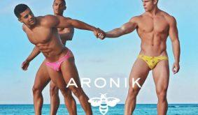 Une journée à la plage avec les garçons de Aronik